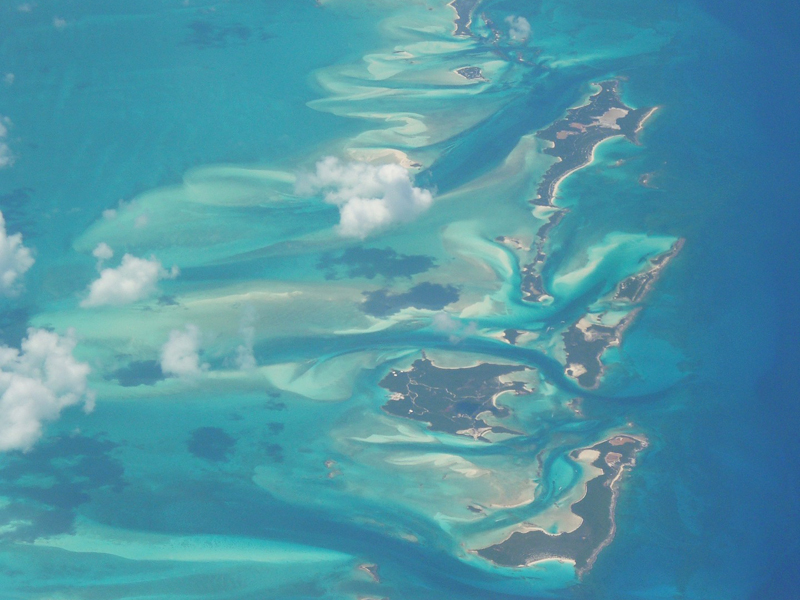 i-escape blog / Low-key Caribbean / Birds eye view of Caribbean islands