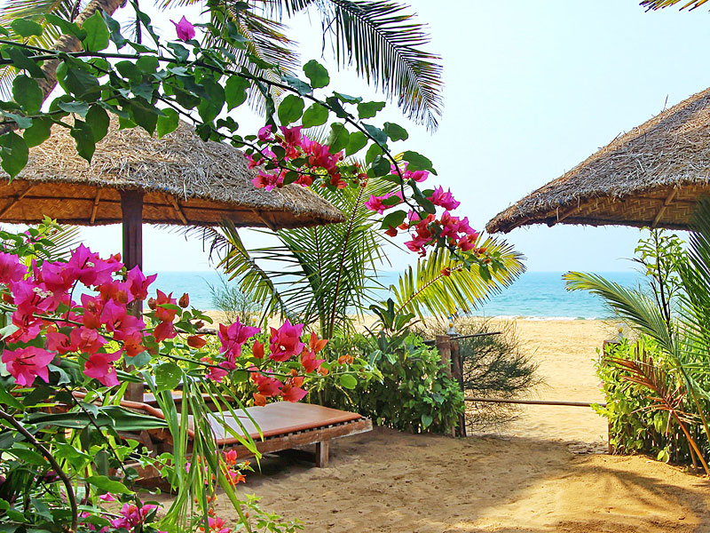 the i-escape blog / Go to Goa for Christmas and New Year: Here's Why / Agonda Villas