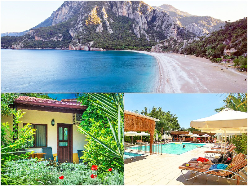 The 9 best places in Europe for winter sun blog iescape Cirali beach Turkey