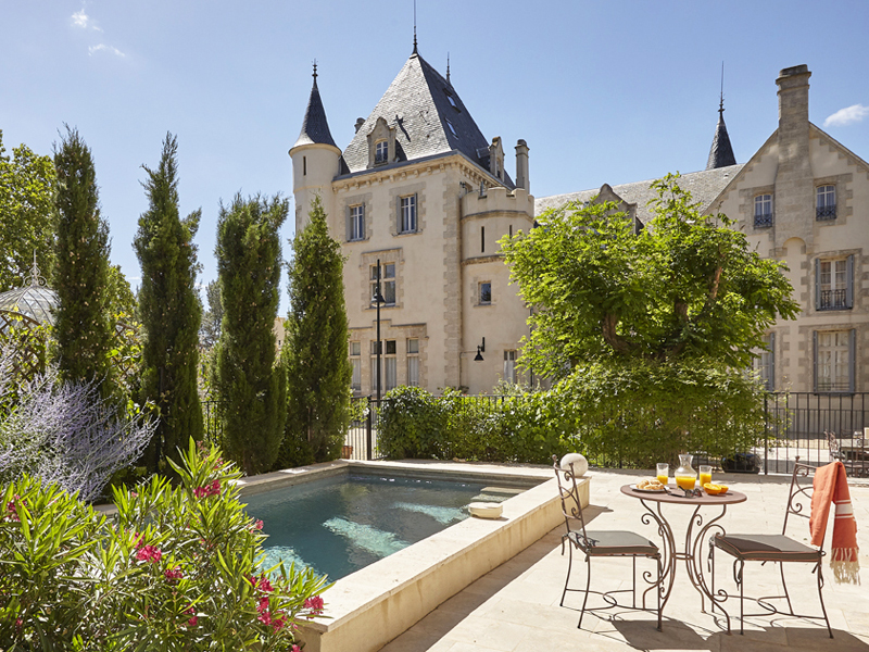 the i-escape blog / South of France: secret hideaways beyond the coast / Chateau Les Carrasses