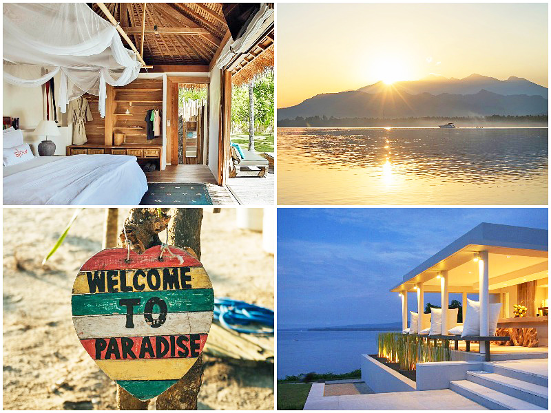 the i-escape blog / best long haul holidays travel 2020 / Gili Air Lombok Indonesia