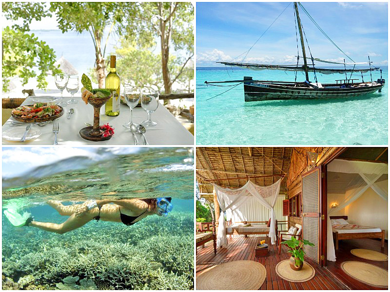 the i-escape blog / best-adults-only-hotels-islands / Pole Pole Bungalows Mafia Island Tanzania