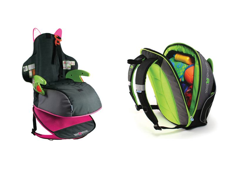 The i-escape blog / What to pack / Trunki Boostapak