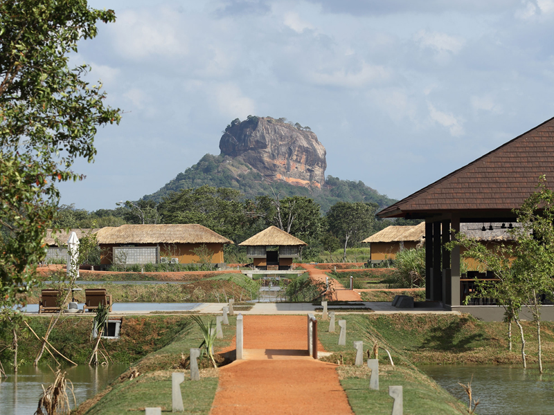 The i-escape blog / 2019 report card / Water Garden Sigiriya