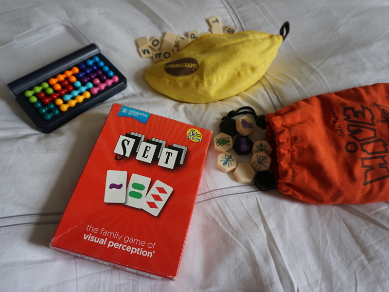 The i-escape blog / What to pack / Children's games