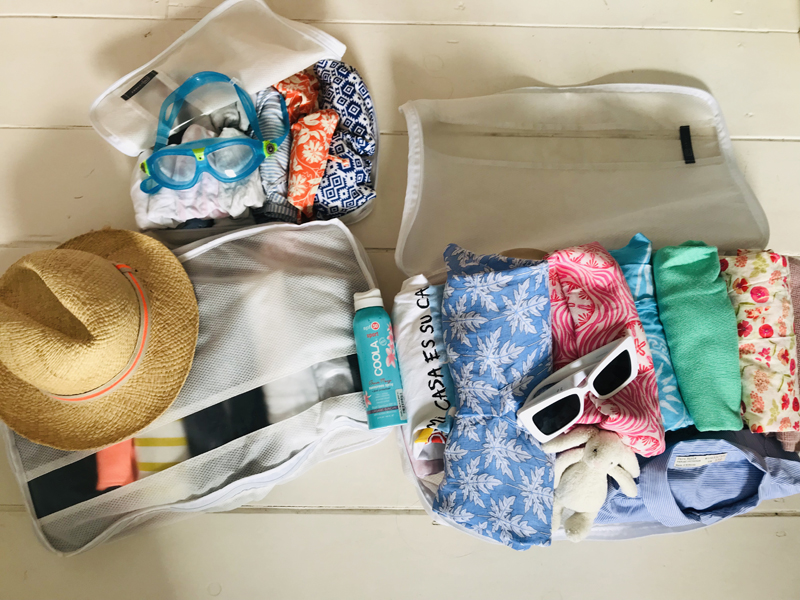 The i-escape blog / What to pack / GoTravel Packing Cubes