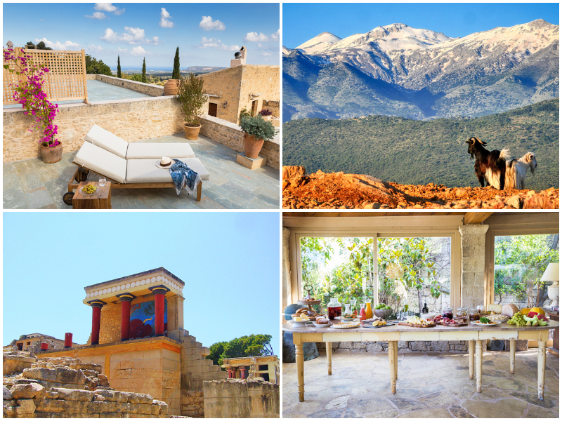 the i-escape blog / 10 Short Flights from the UK for October Sun / Kapsaliana Village Hotel