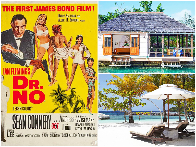 i-escape blog famous best movie beaches list 2019 James Bond Goldeneye-Laughing-Waters