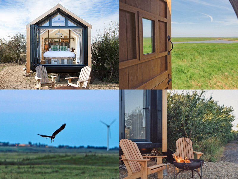 the i-escape blog / 10 UK retreats to spoil yourself at / Elmley Nature Reserve