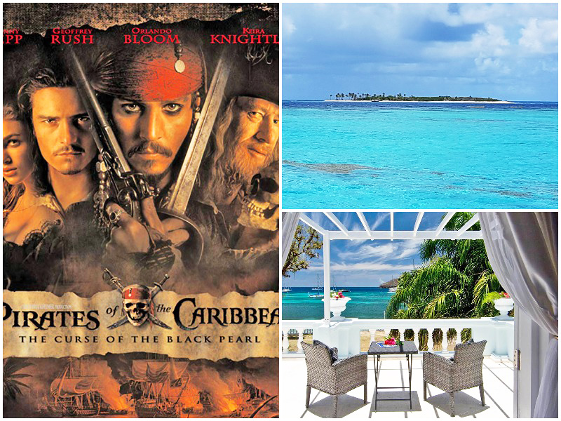 i-escape blog famous best movie beaches list 2019-Pirates-of-the-Caribbean-Tobago-Cays-Johnny-Depp-Vincent-Grenadines