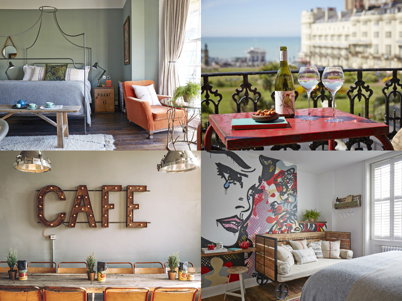 the i-escape blog / 10 UK retreats to spoil yourself at / Artist Residence Brighton