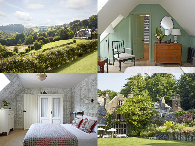 the i-escape blog / 10 UK retreats to spoil yourself at / Hotel Endsleigh