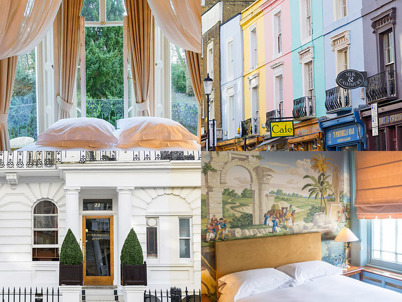 the i-escape blog / 10 UK retreats to spoil yourself at / The Portobello Hotel