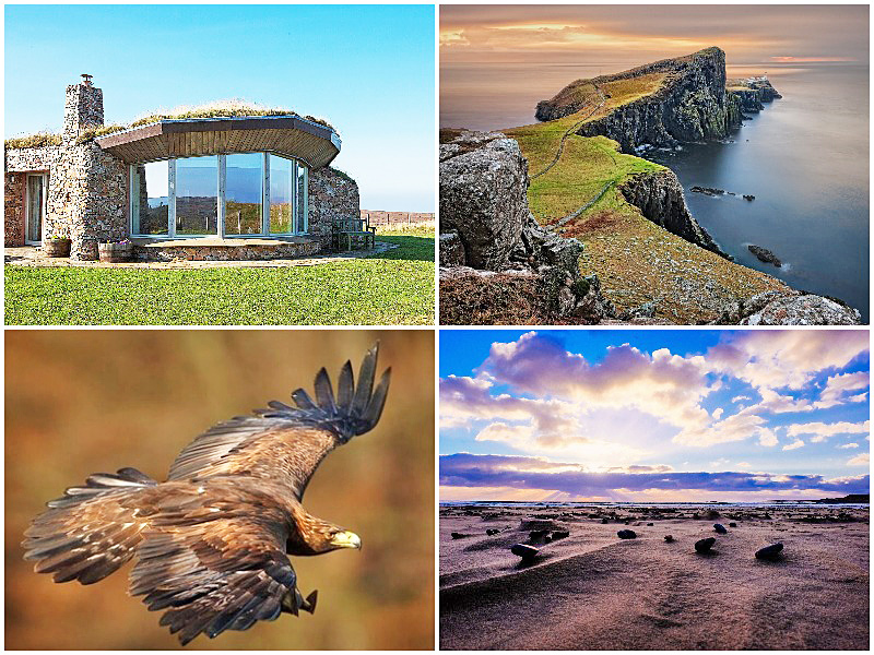i-escape blog / best homes rentals not on airbnb uk / coillabus isley hebrides