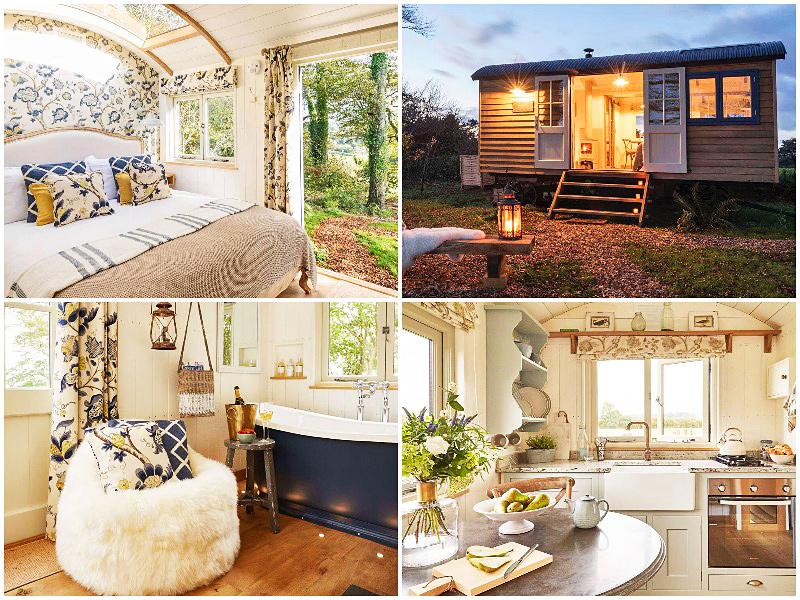 i-escape blog / best homes rentals not on airbnb uk / glamping starbed hideaways devon