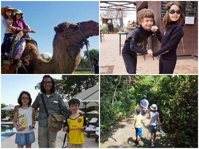 i-escape blog / stylish family hideaways: a child's eye view / family adventure