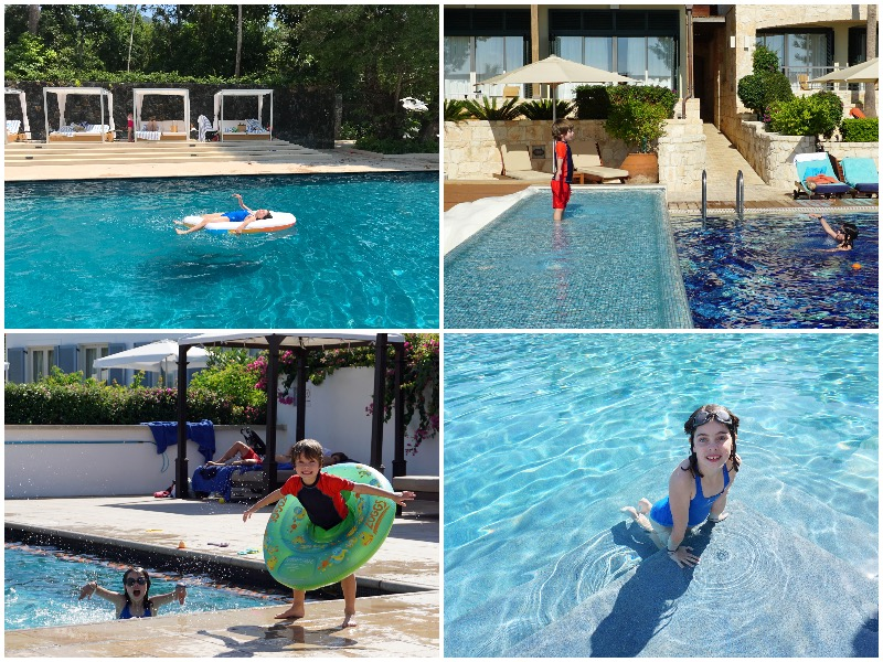 i-escape blog / stylish family hideaways: a child's eye view / hotels with pools