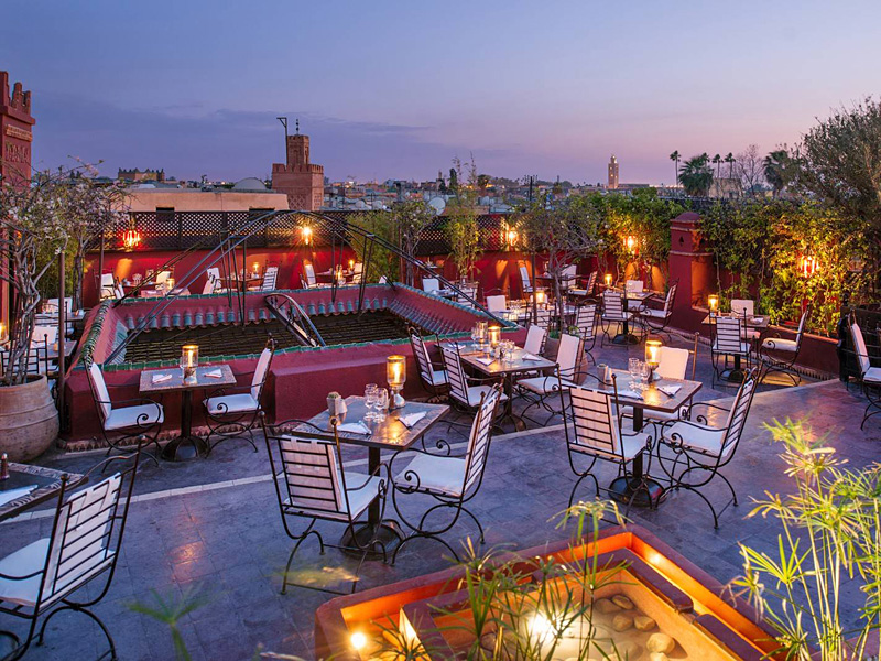 the i-escape blog / the best places to eat out in Marrakech / le foundouk