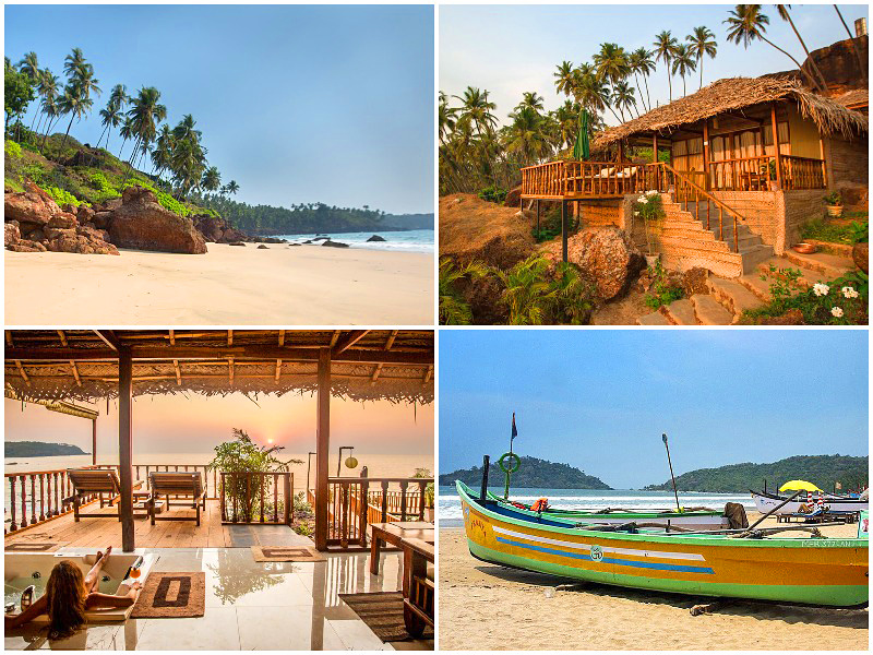 Agonda Beach in South Goa is voted the 11th best place to travel in the world 2020 by i-escape