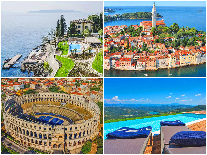 Istria in Croatia is voted the 3rd best place to travel in the world 2020 by i-escape