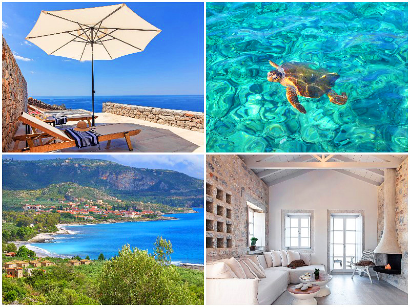 The Peloponnese in Greece is voted the 5th best place to travel in the world 2020 by i-escape