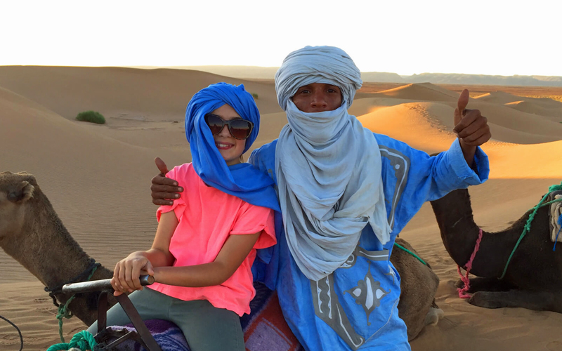 i-escape blog / easter-in-morocco-family-holidays / Camp Adounia
