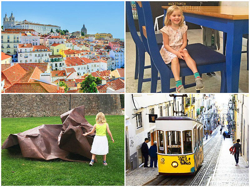 iescape family travel guide lisbon coast Chiado district