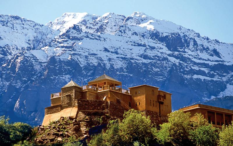 i-escape blog / easter-in-morocco-family-holidays / Kasbah du Toubkal