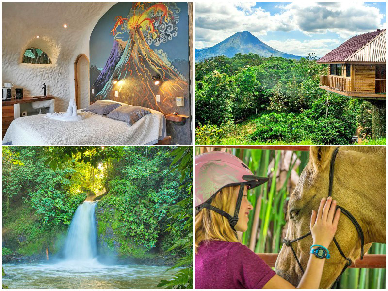 The iescape Costa Rica travel guide itinerary 2020 Arenal volcano