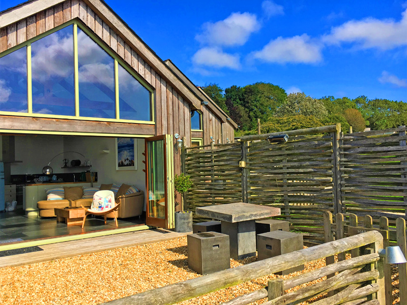 the i-escape blog / 10 family summer holidays in the UK / Merlin Farm Eco Cottages