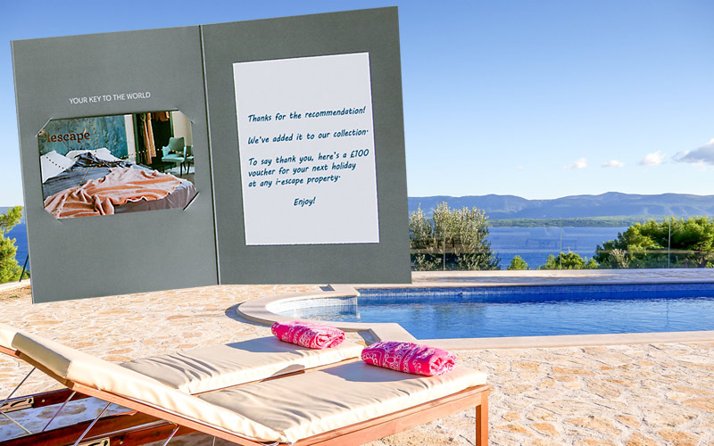 i-escape blog / Recommend a new rental hideaway and earn £100 / The Beach House in Bol