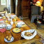 La Louviere, France, Breakfast