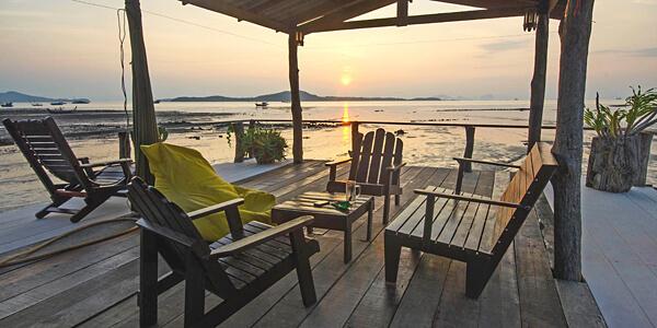 The seven seas resort koh kradan thailand hotel reviews for Escape cabins koh lanta