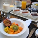 An African Villa, South Africa, Breakfast