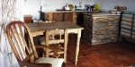 Casa Rural Las Chimeneas, Spain, Corral kitchen