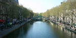 Appartement Blanc, France, Canal Saint Martin