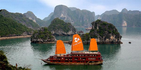 Cruise Halong, Vietnam