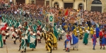 Villa i Bossi, Italy, Arezzo jousting tournament (© jandrewes.de)