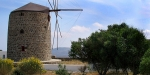 Milos windmill, Greece, The windmill