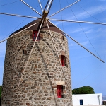 Milos windmill, Greece
