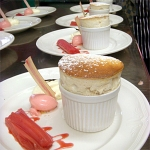 Langar Hall, United Kingdom, Rhubarb soufflee