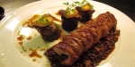 Langar Hall, United Kingdom, Belvoir rabbit, Puy lentils, caramelised turnips