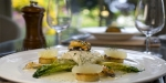 Langar Hall, United Kingdom, Turbot with tarragon gnocci