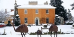 Langar Hall, United Kingdom, Langar Hall in winter
