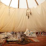Cliff Barns, United Kingdom, Teepee