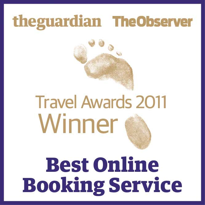Guardian  & Observer Travel Awards 2011