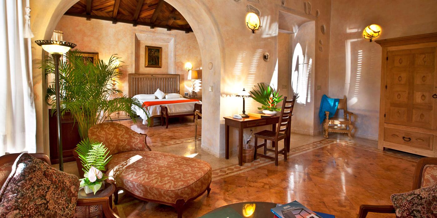 Hacienda Xcanatun, Near Merida, The Yucatan, Mexico Hotel